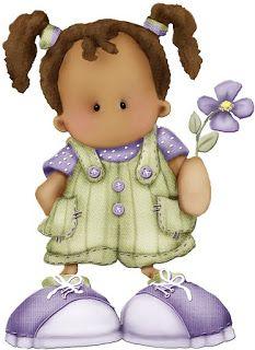 Imagenes de mu ecas bonitas para imprimir imagenes y dibujos para imprimir margenes - Dibujos pared infantil ...