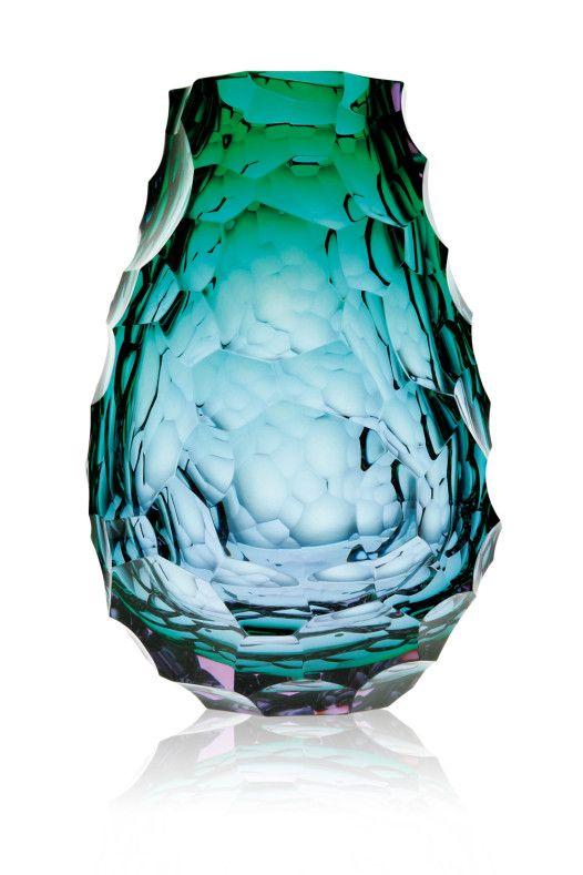 Moser, kolekce skleněných váz aobjektů Design & Style. Zdroj: CGD