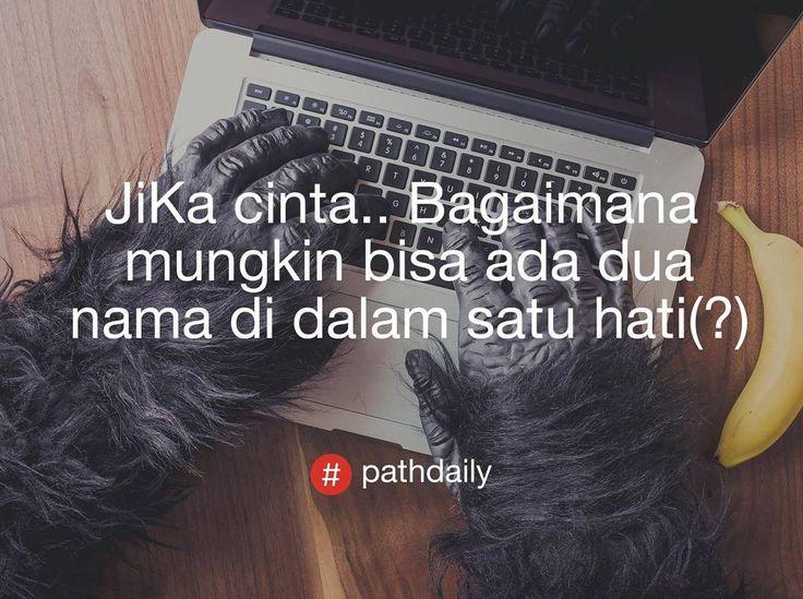 Bagaimana bisa(?) . Follow @dailypath__ . #pathdailyindonesia__ #dailypath__ #pathdaily #pathdailyindonesia #pathdailyquote #pathdailyindo #pathdailystory #pathdailyst0ry #path #instagram #lfl #fff #dagelan #ngakakkocak #indovidgram #omteloletom #dagelanvideo #ngakak #anakhitskekinian #anakjalananrcti #sad #sadquotes #love #lovequotes #lovequotesandsayings #lovequotesforhim #sadquotestumblr #sadness #valentines #pathdailyindo…