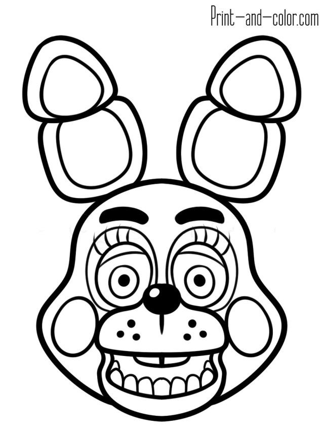 21 Inspired Picture Of Five Nights At Freddy S Coloring Pages Entitlementtrap Com Fnaf Coloring Pages Coloring Pages Five Nights At Freddy S