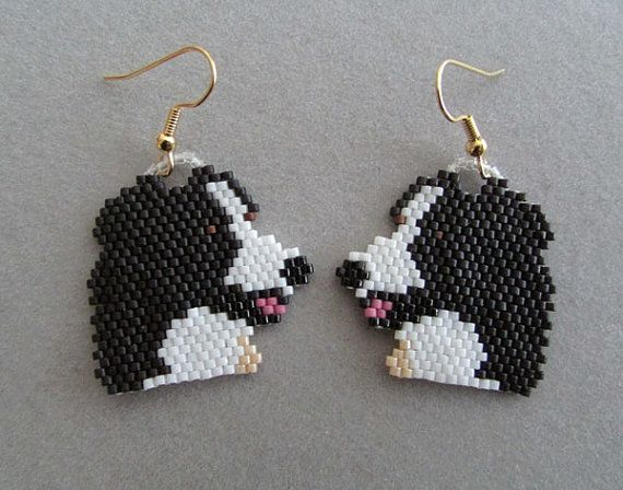 These earrings are sure to be a favorite of the Aussie Shepherd owner or dog lover that you know. They measure approximately 1-1/4 wide and