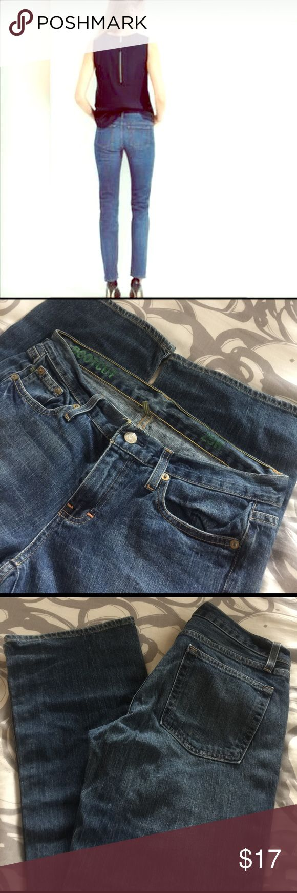 """Lk new J Crew jeans 29 bootcut, slimming J Crew jeans, size 8/29, inseam 31."""". Like new condition. J. Crew Jeans Boot Cut"""