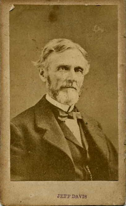 jefferson davis president civil war