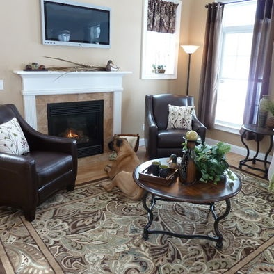Paisley Park Area Rug From Lowes · Farmhouse Living RoomsCountry ...