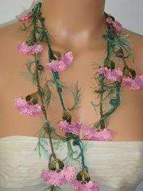Needle lace necklace- AWESOME!  TÜRK iğne oyası takı