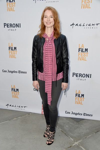 "Alicia Witt Photos Photos - Actress Alicia Witt attends the LA Film Festival premiere of Tangerine Entertainment's ""Paint It Black"" at Bing Theater At LACMA on June 3, 2016 in Los Angeles, California. - LA Film Festival Premiere Of Tangerine Entertainment's 'Paint It Black' - Red Carpet"