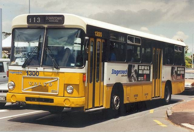 Auckland Yellow Buses