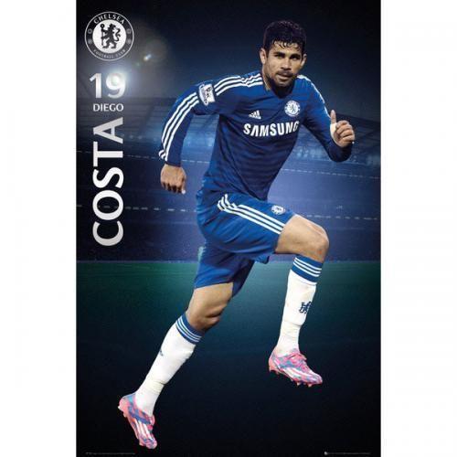 SoccerGaga.com - OFFICIAL Chelsea F.C. Poster Diego Costa 58, $18.99 (http://www.soccergaga.com/chelsea-f-c-poster-diego-costa-58/)