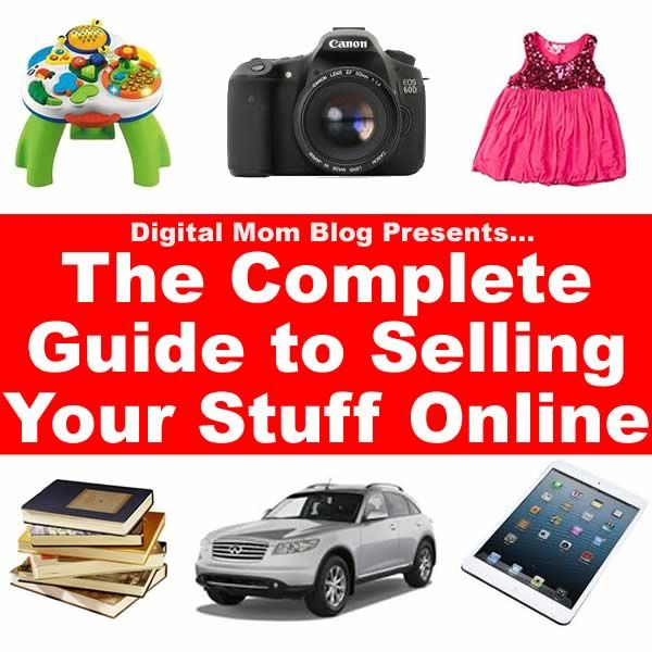 how to sell your stuff online with no money