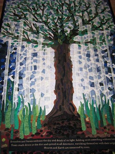 #tree and #root #quilt
