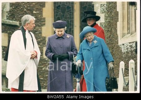 December 25, 1993: Christmas Day Church Services at St. Mary Magdalene Church at Sandringham