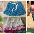 Crochet Girls Skirt Free Patterns & Instructions