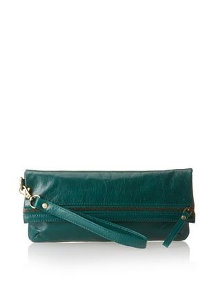 63% OFF Latico Women's Eileen Clutch/Wristlet, Emerald