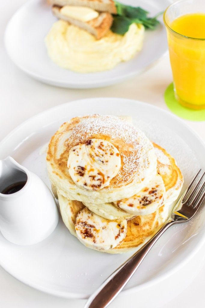 Ricotta Pancakes & Scrambled Eggs, from bills Sydney (Waikiki).