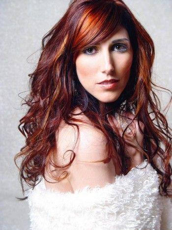 red: Hair Ideas, Long Hair Style, Hair Colors Ideas, Dark Hair, Red Hair, Brown Hair Colors, Long Hairstyles, Hair Highlights, Red Highlights