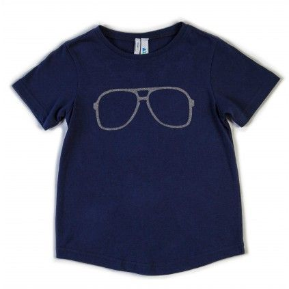 Plain Tee - Navy - Tops - Boys