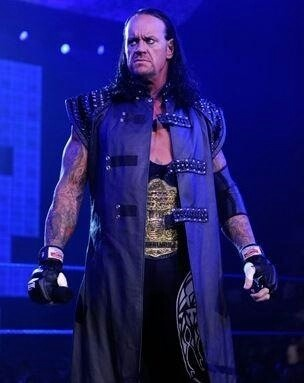 "( CELEBRITY MAN 2016 The Undertaker WWE ) - Mark William Calaway - Wednesday, March 24, 1965 - 6' 10"" 299 lbs - Houston, Texas, USA."