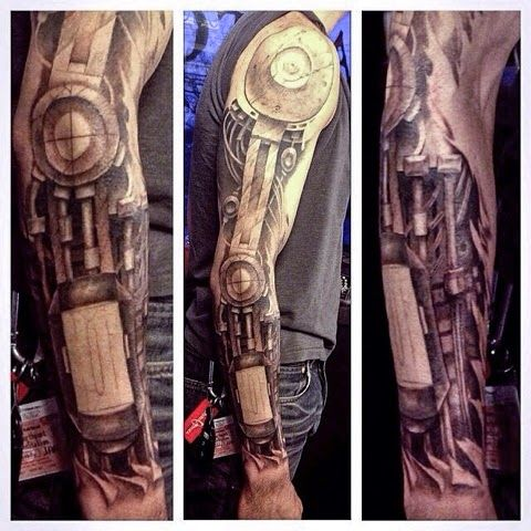 sleeve by paul tochluk mechanical arm sleeve by paul tochluk