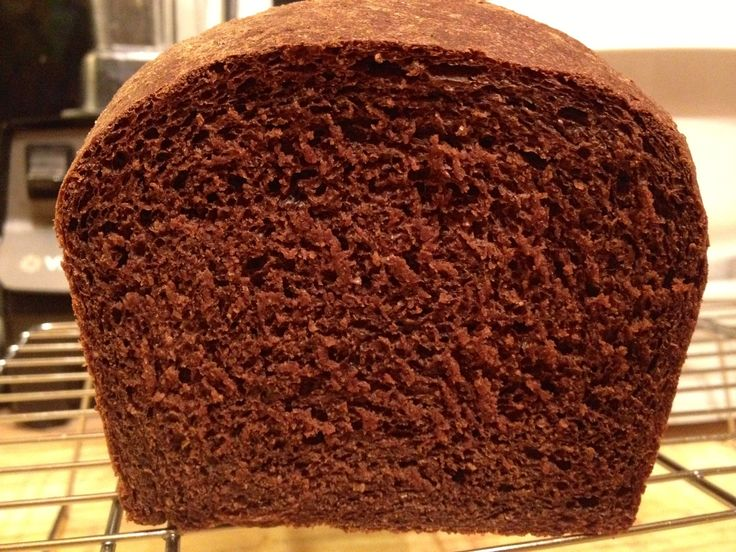 A Flock In The City | Homemade Pumpernickel Bread ~ Another variation on my master bread recipe and oh my gosh good!