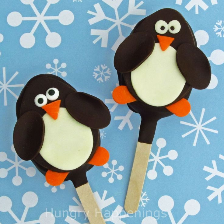 Hungry Happenings: Sweet Penguin Rice Krispies Treat Pops will warm your heart.