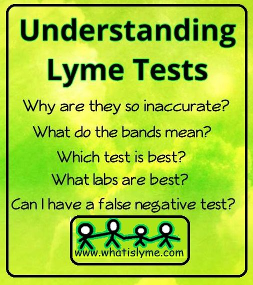 I have had Lyme disease for 26 years and I still get confused about the testing. This is such a great help and reference to understanding the complicated issue of testing.