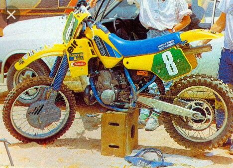 Michele Rinaldi Suzuki RH 250 - 1985