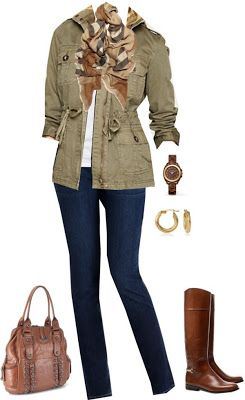 Love the adirondack jacket with skinnies and boots!