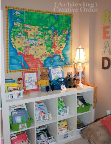Achieving Creative Order: Project Playroom: Book Nook