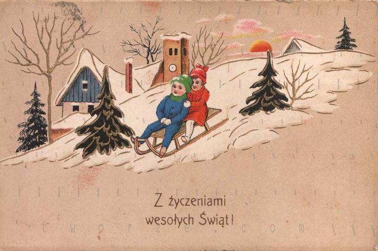 Merry Christmas - issued before 1928