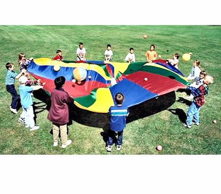 $34.97,Save $14.98 - 3.5 M       - 3.5M #Kids Play #Parachute Toy  - Multi-Coloured at CrazySales.com.au -  Bring back childhood #fun with this colourful parachute toy! Measuring a large 3.5 meters in diameter, kids will love this vibrant play parachute!