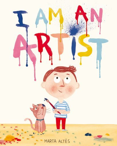 I am an Artist. Geared for younger children, but with its connections to famous artists, could be used for older children. #painting #inspiration #ArtEd