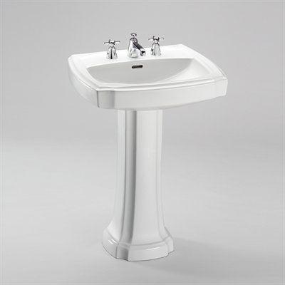 Toto Lpt972 Guinevere Pedestal Sink Fixture Universe