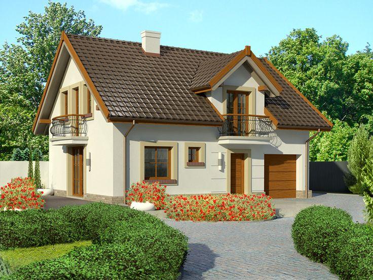 http://pracownia-projekty.dom.pl/dom_przy_alabastrowej_21.htm Projekt domu EB4-33 dom.pl