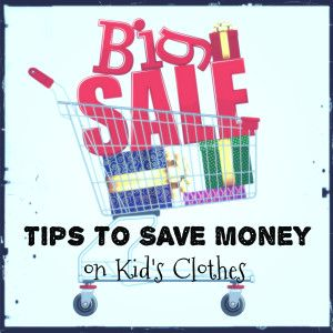 Save hundreds on new children's clothes with these tips.
