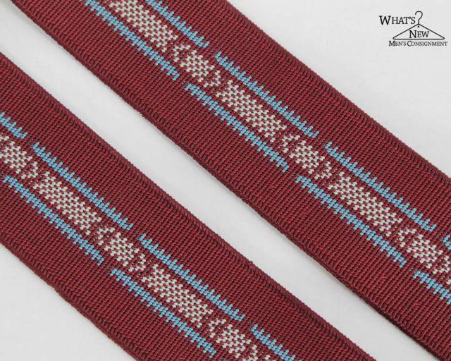 VTG Polo Ralph Lauren Dark Red Suspenders | eBay