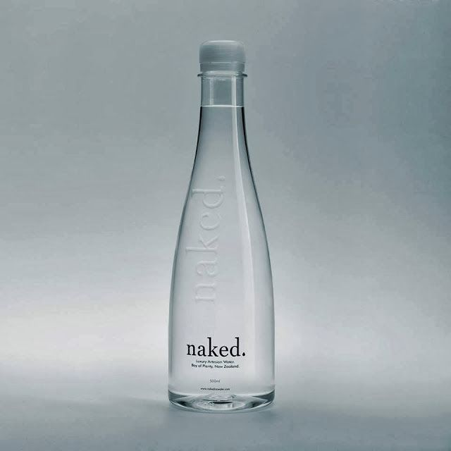 naked. Luxury Artesian Water on Packaging of the World - Creative Package Design Gallery