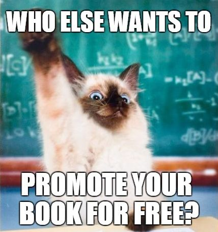 Don't Know How To Promote Your Book For FREE? Get my FREE book promotion course! http://alunloves.it/bpmc