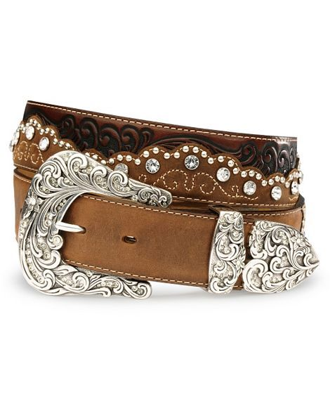 This is the first belt I've actually liked. Tony Lama Kaitlyn Crystal Leather Western Belt $84.00