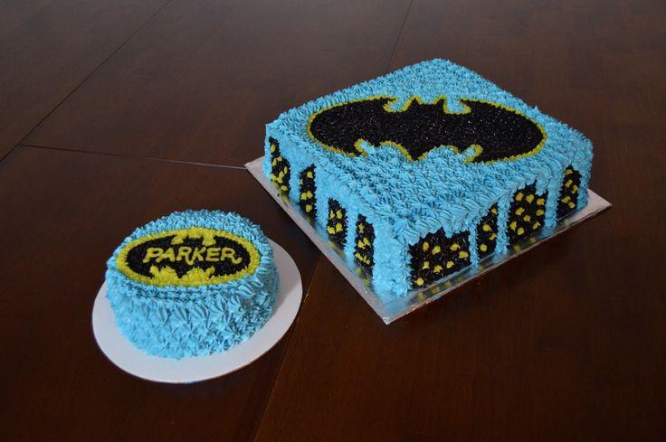 Batman First Birthday Cake