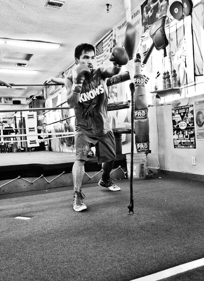 Manny Pacquiao : hardwork pays off