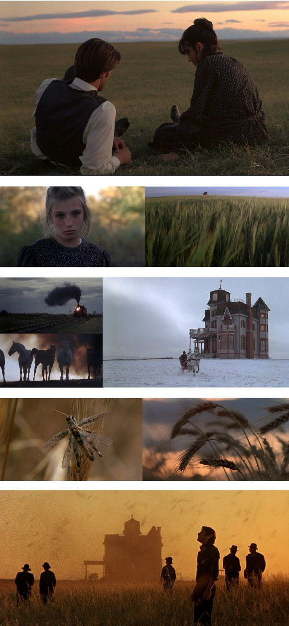 Another from Days of Heaven 1978 dir. Malick. Art Direction Jack Fisk, Set Decoration Robert Gould.