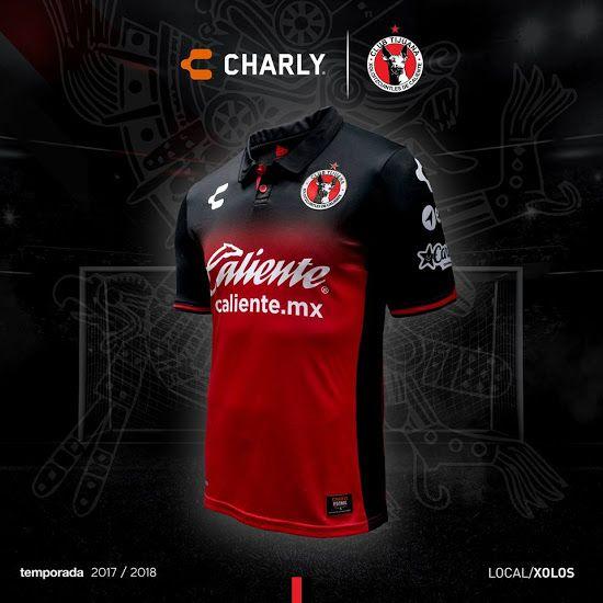 No More Adidas | Charly Club Tijuana 17-18 Home & Away Released - Footy Headlines