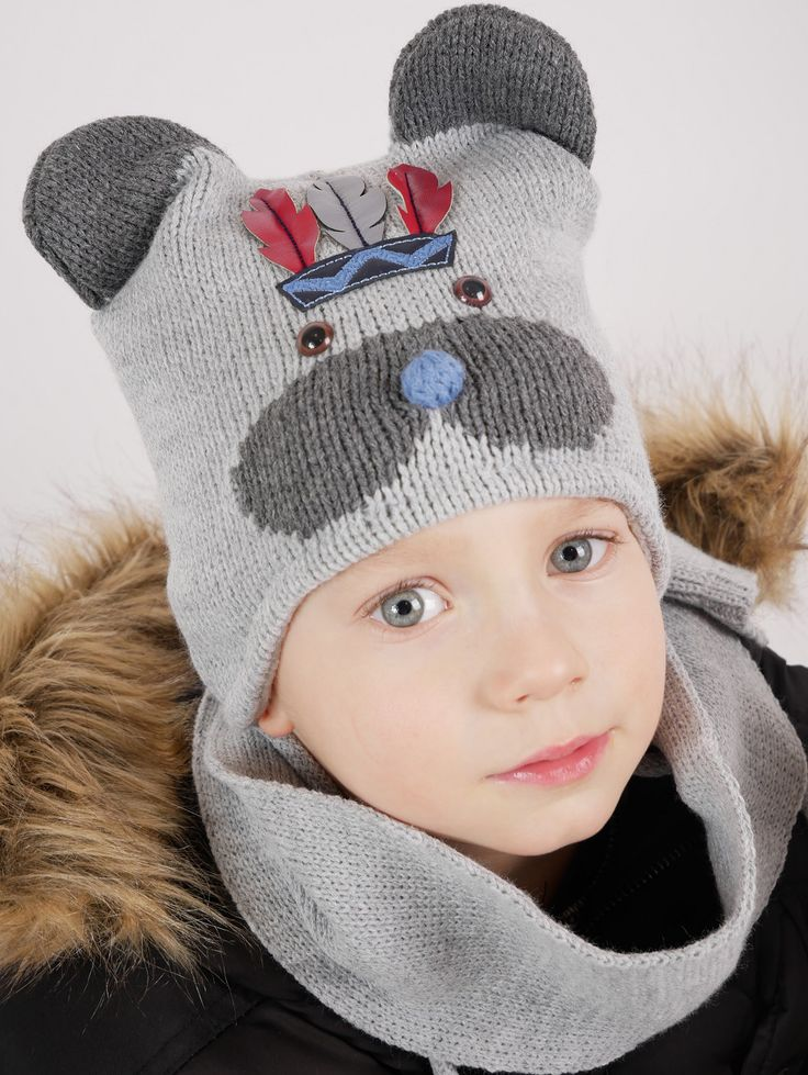 Apache bear hat will make your child dance around the fire ! :)