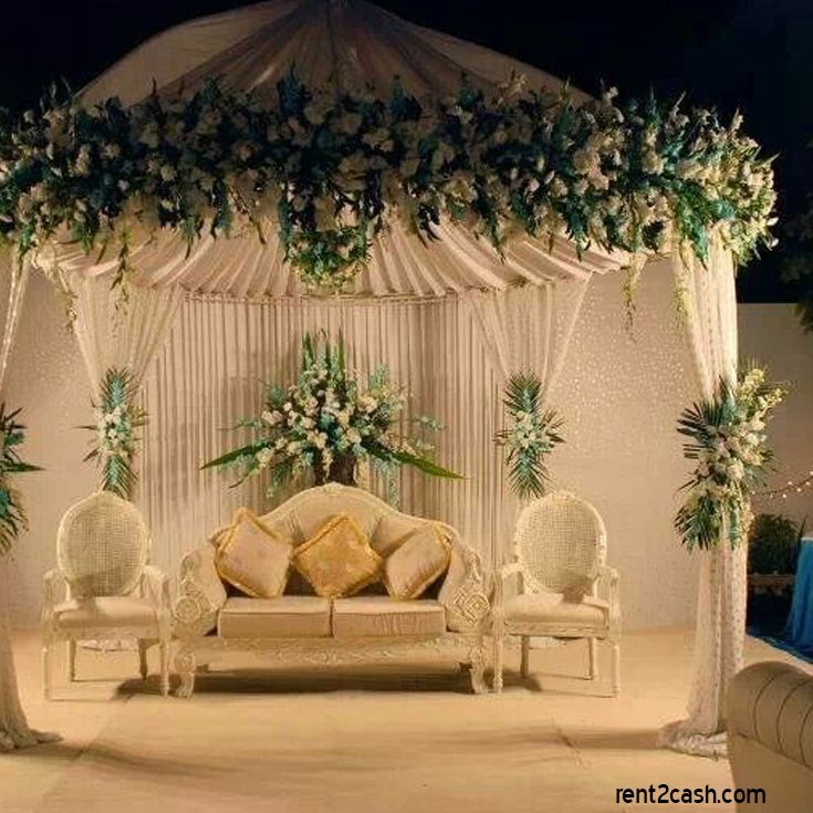 Hire a #wedding #decorator for your wedding & decorator your wedding or  reception hall as per your choice. Hire a wedding decorator from  Rent2cash.com with ...