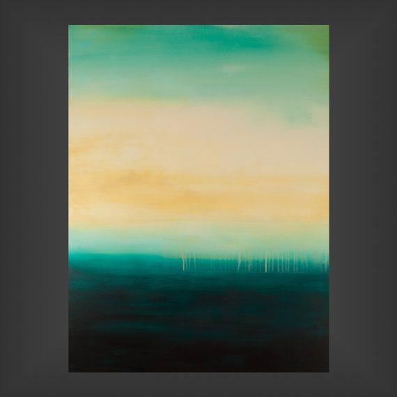 Somber  30x40x15  Large abstract minimalist by jodileighoriginals, $425.00