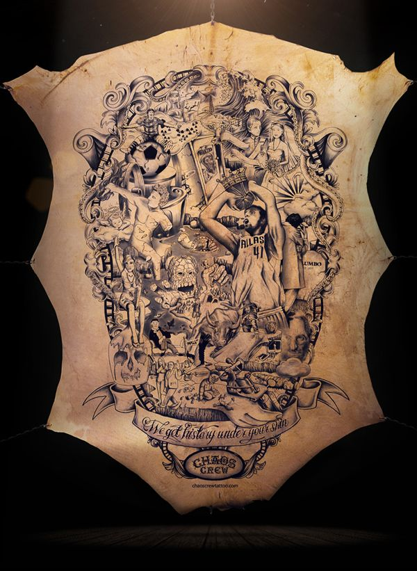 The Tattooed Poster