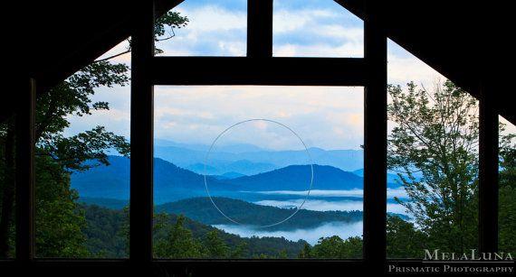 Tao Nature Photography, North Carolina Blue Ridge Mountains Fine Art Photo PRINT, Spiritual Wall Decor, Mountain Photography, Mountain Decor