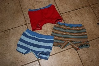 When your kid's t-shirts get to be too small, repurpose them into underwear! ETA: I've made a few of these now. They are so easy to make, and utterly adorable.