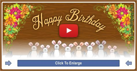 Mice playing the Happy Birthday song on piano. This is the famous Happy Birthday Musical Mice video. You will like this birthday song video Mice.