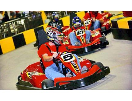 Find go karting rates in Alberton